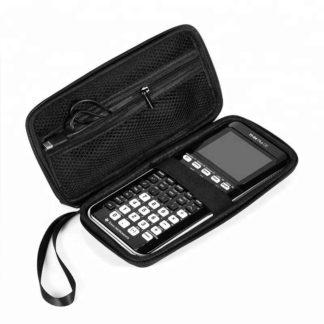 väska, case, till din grafräknare från texas instruments, t.ex. ti-83 och ti-84. skyddar den från smuts, stötar, stänk och damm
