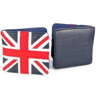 Plånbok Retro med motiv av Brittiska Flaggan - Union Jack