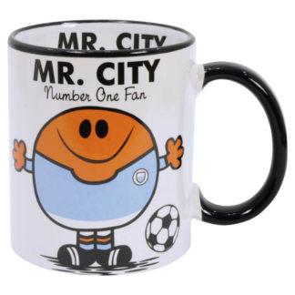 mugg för Manchester City fans