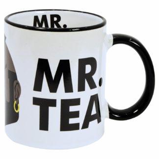 mugg med mr t från a-team och texten mr tea