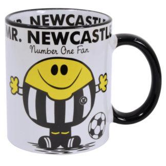 mugg för fans av fotbollslaget Newcastle
