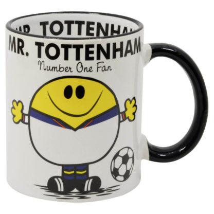 mugg för fans av fotbollslaget tottenham