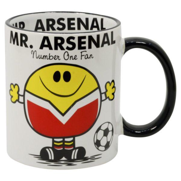 mugg för fans av fotbollslaget Arsenal