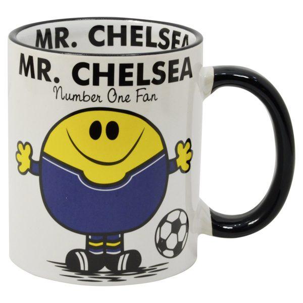 mugg för fans av fotbollslaget Chelsea