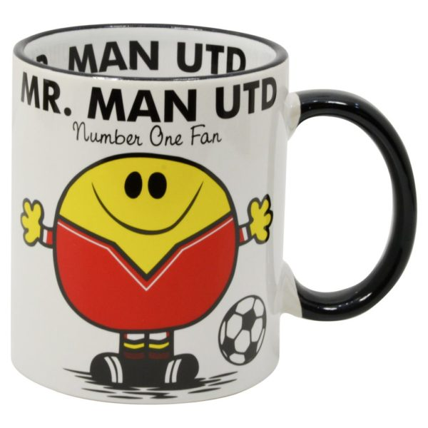 mugg för fans av fotbollslaget manchester united