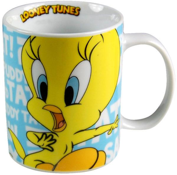 mugg med motiv av tweety bird - pip från looney tunes