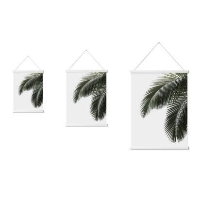 vit magnetisk tavelram, affischlist, enkelt att sätta upp, flytta, byta poster eller ritning