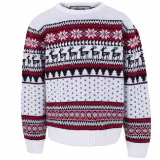 matchande jultröjor till hela familjen i klassiskt fair isle mönster